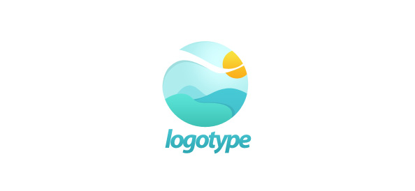 Free Landscape Logo Design