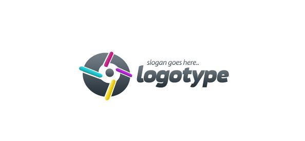 Technology Logo Vector Template