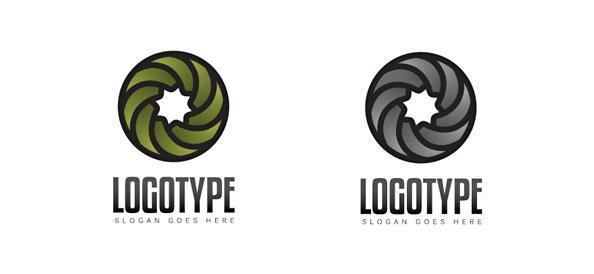 Swirl Logo Vector Template
