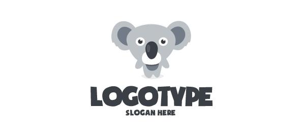 Koala Logo Design Template