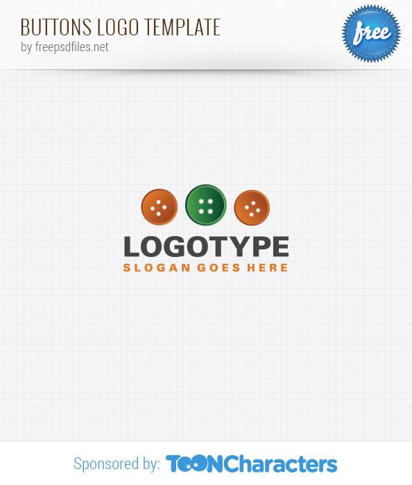 Buttons logo template
