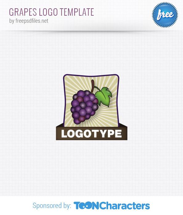 Grapes Logo Template