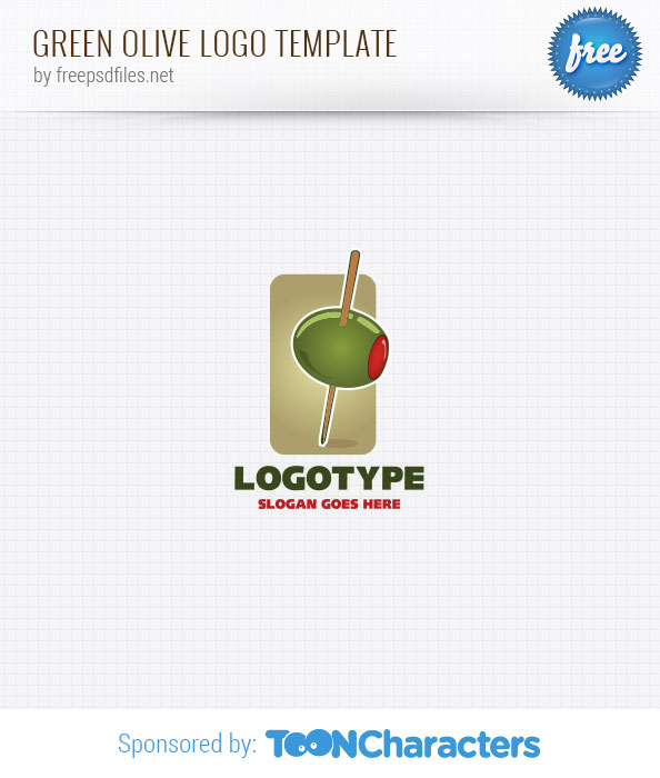 Green Olive Logo Template