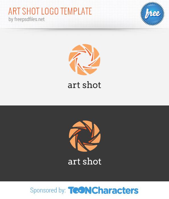 Art Shot Logo Template