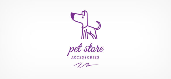 Free Dog Pet Store Logo Design