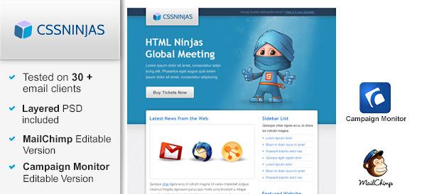 HTML Ninja Email Template