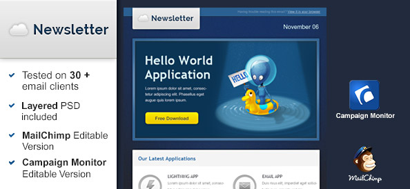 Hello World Email Template