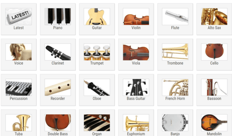 8 sites with free sheet music & guitar chords - freemake