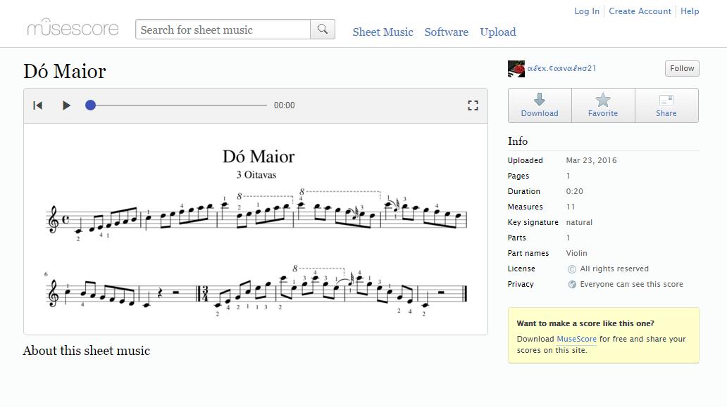 Sheet music free