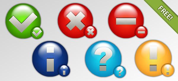 Six Status Icons
