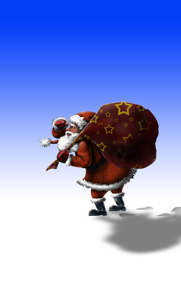 Free Santa Claus Illustration