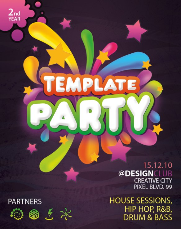 Free PSD Flyer Template