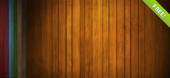Free Wood Background Set
