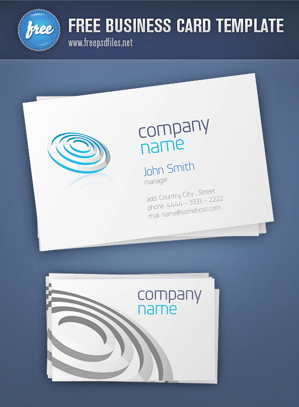 Business Card Template Preview Big