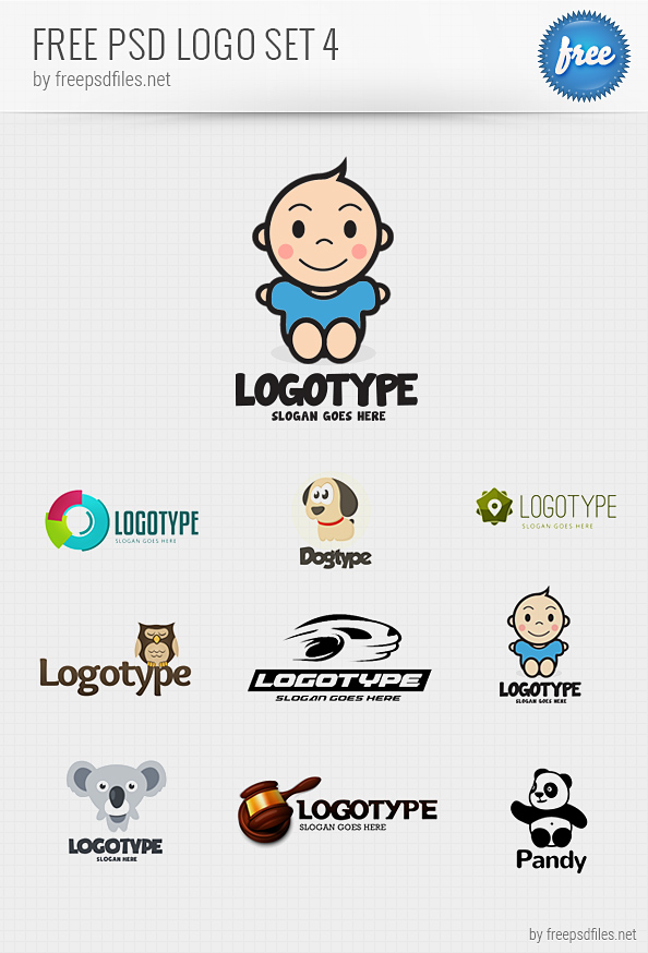 PSD Logo Design Templates