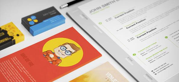 40+ Best Free PSD Print Templates