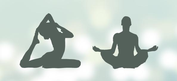 Yoga Silhouettes Set 2