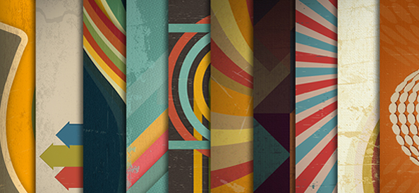 Free PSD Retro Backgrounds