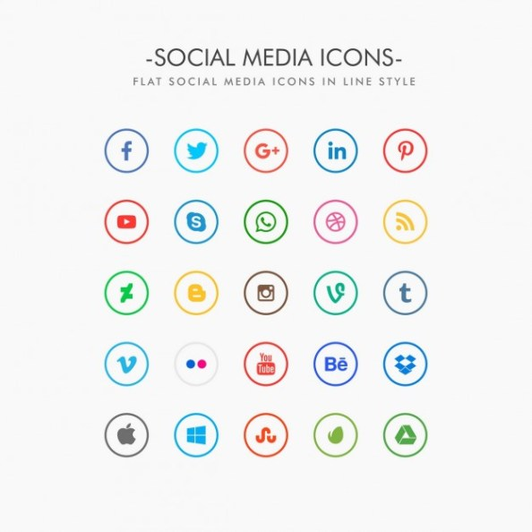 minimal-social-media-icons-pack