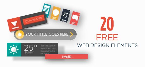 20 Free Web Design Elements for Stylish Website Looks