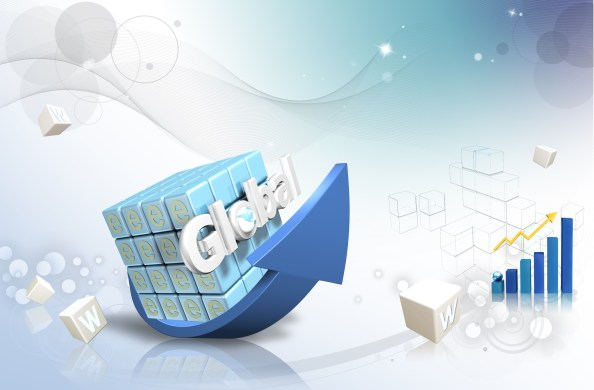 business 3d background