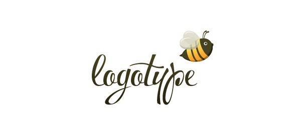 Bee_Logo_Design_Template