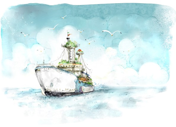 a_fresh_style_handpainted_ships_psd_layered_pictures