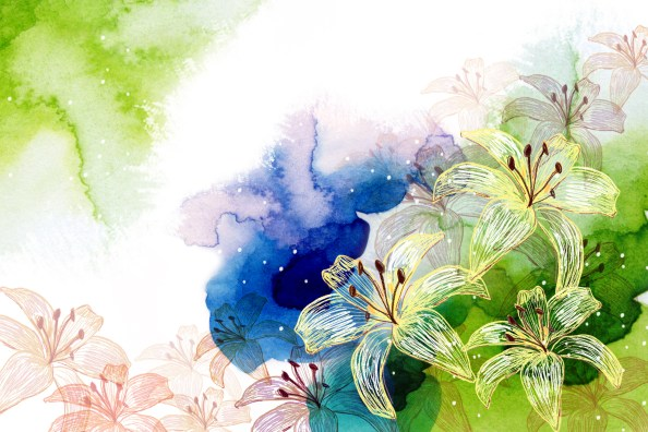 watercolor background psd