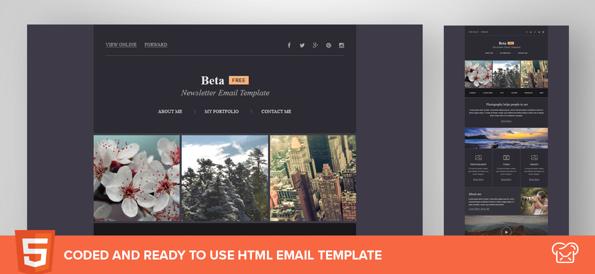 Mailbakery Beta – Free HTML Email Template