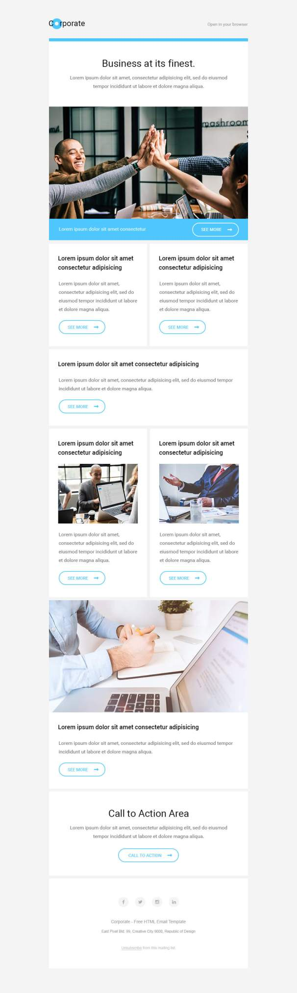 corporate-template-preview