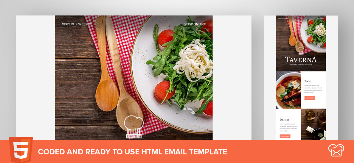 Taverna – Free HTML Email Template