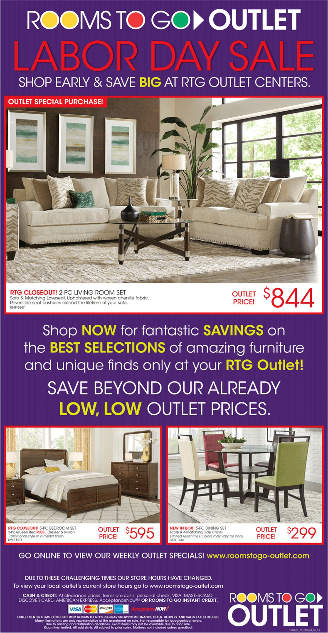 rooms to go current weekly ad 08 28