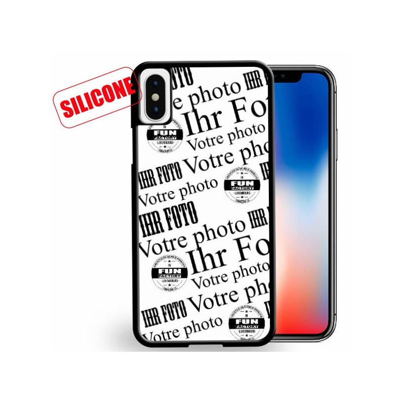coque iphone x silicone personnalisee avec votre plus belle photo