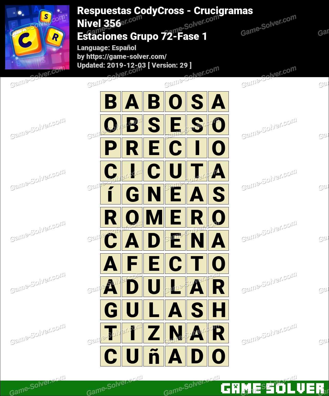 Respuestas CodyCross Estaciones Grupo 72-Fase 1