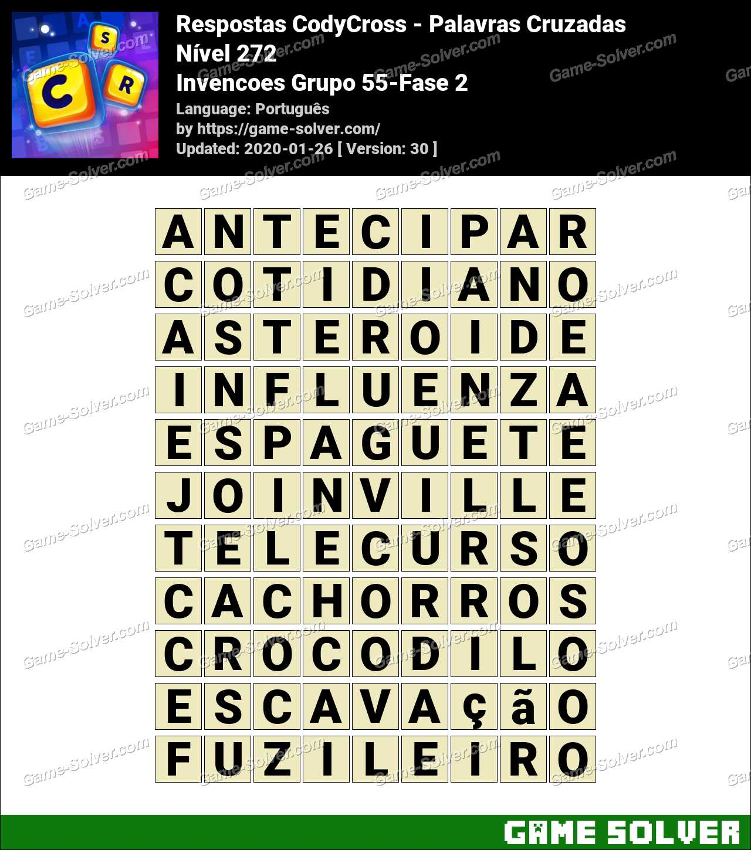 Respostas CodyCross Invencoes Grupo 55-Fase 2