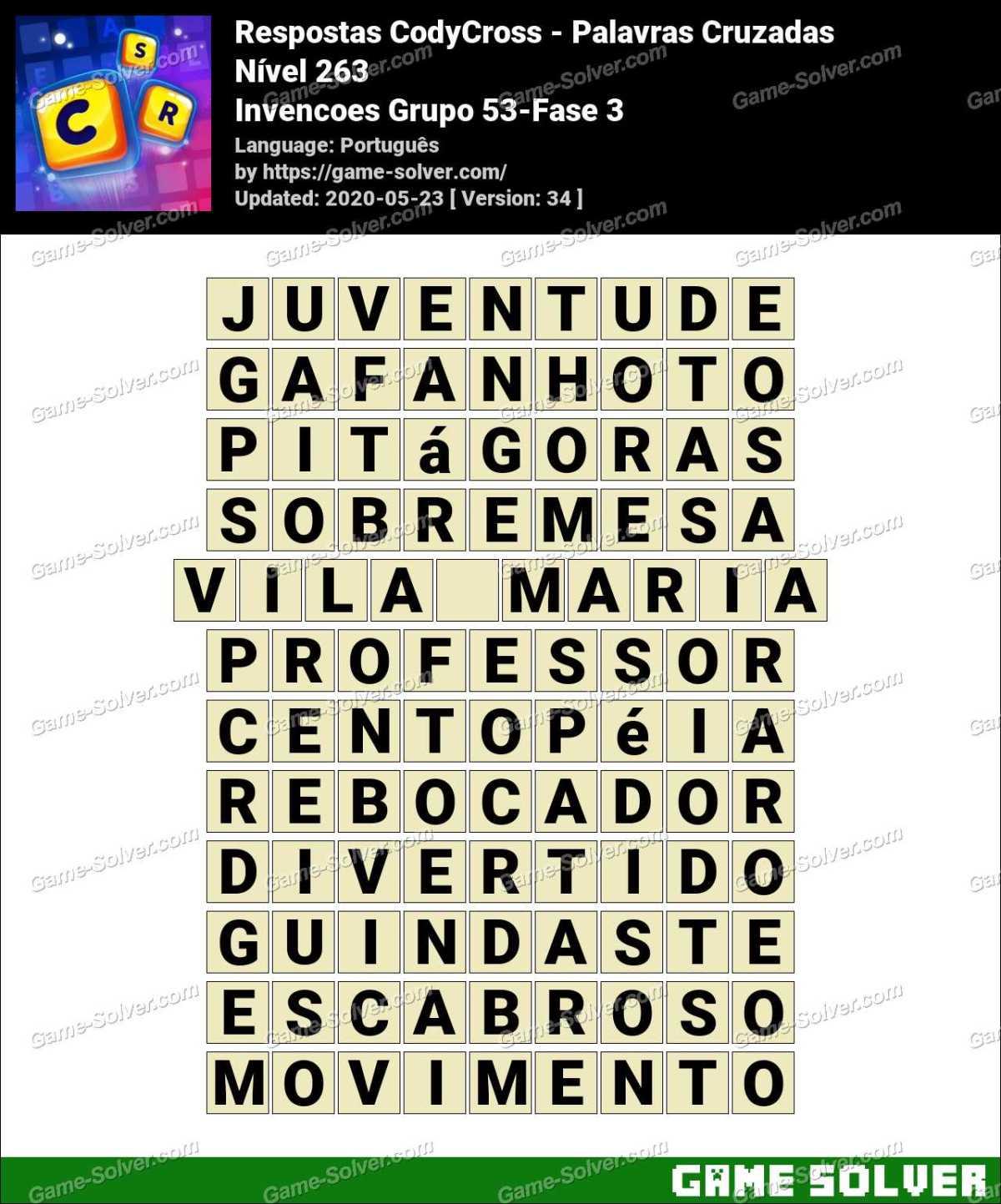 Respostas CodyCross Invencoes Grupo 53-Fase 3