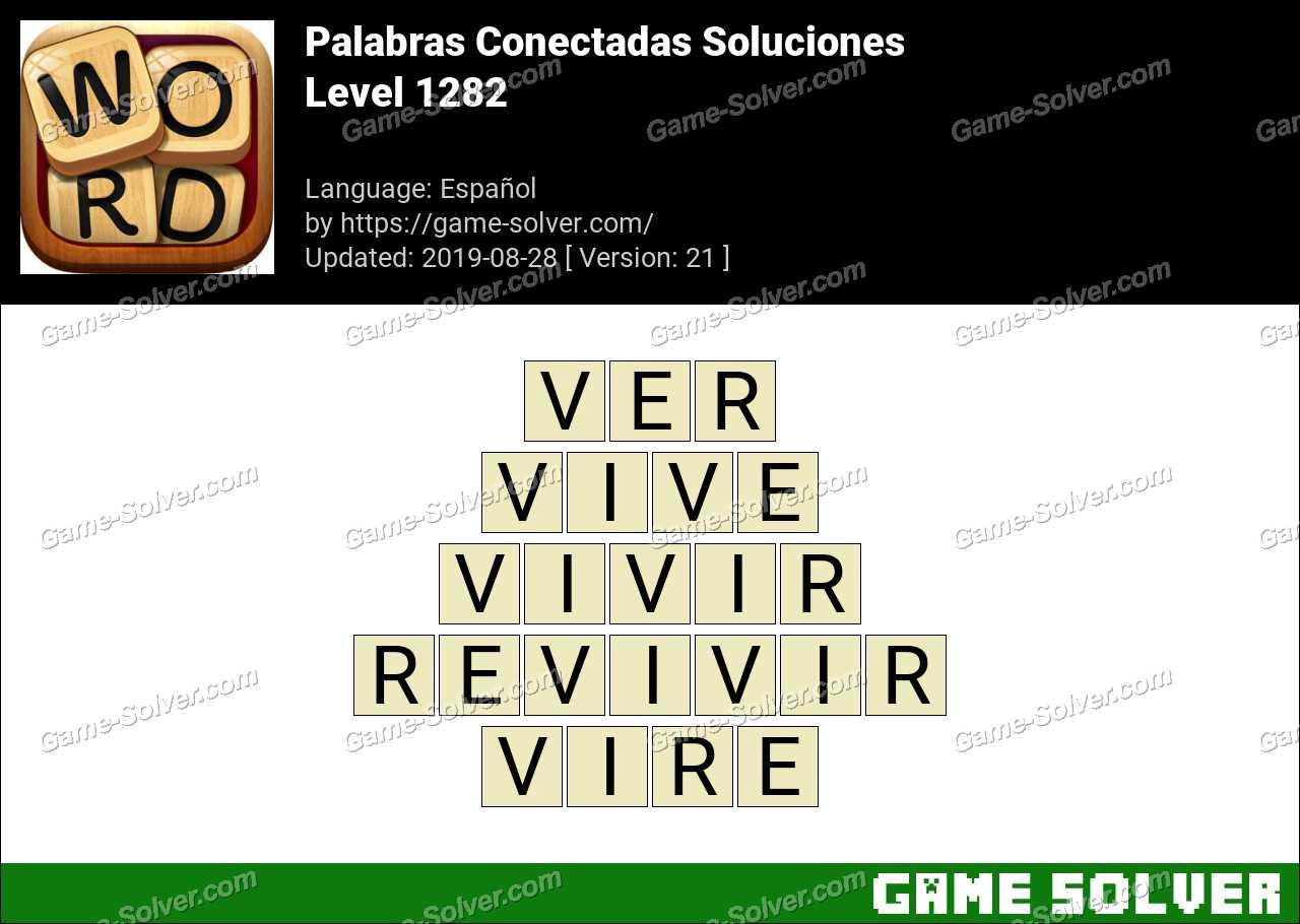 Palabras Conectadas Nivel 1282 Soluciones