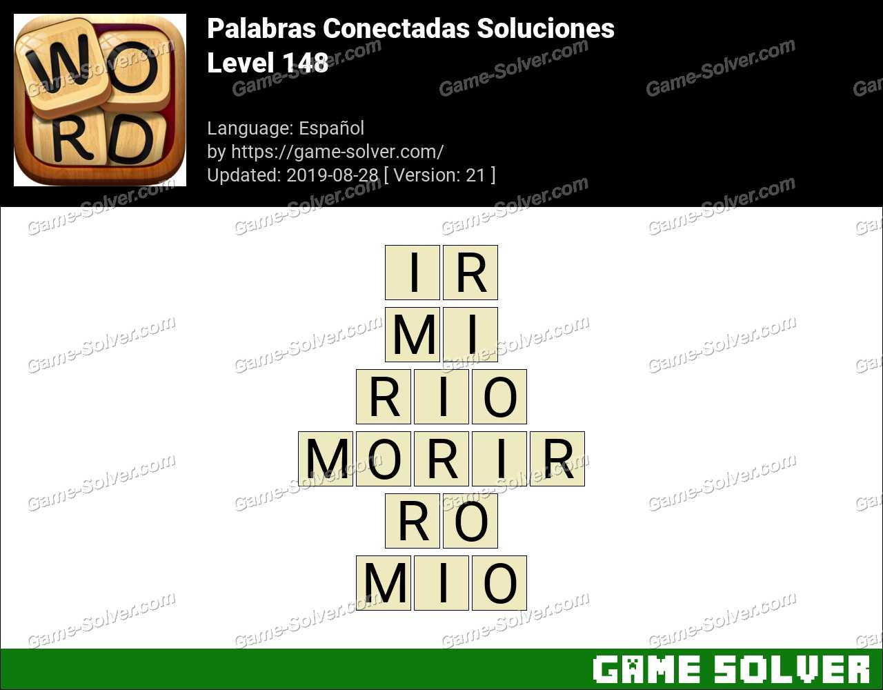 Palabras Conectadas Nivel 148 Soluciones
