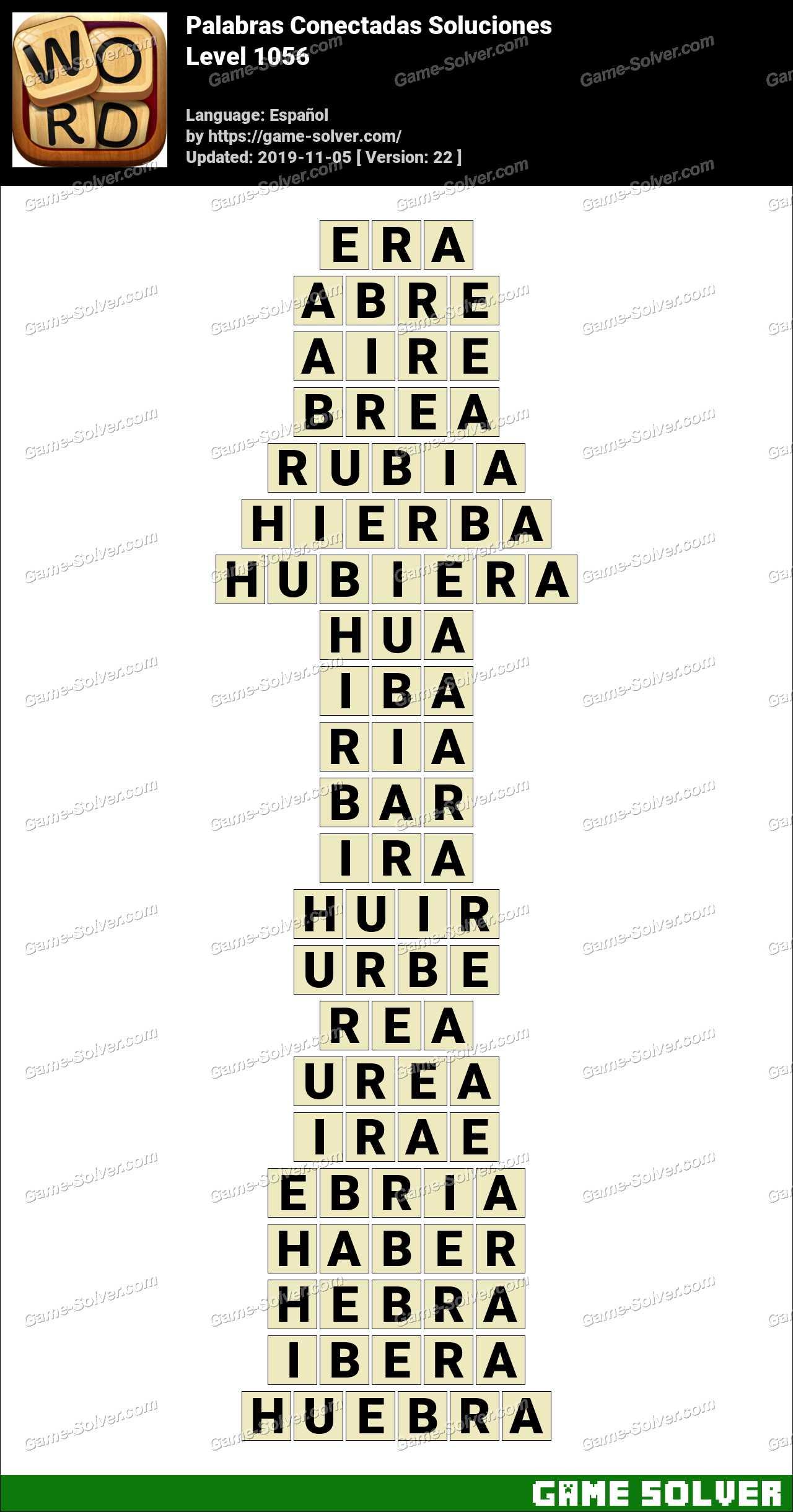 Palabras Conectadas Nivel 1056 Soluciones