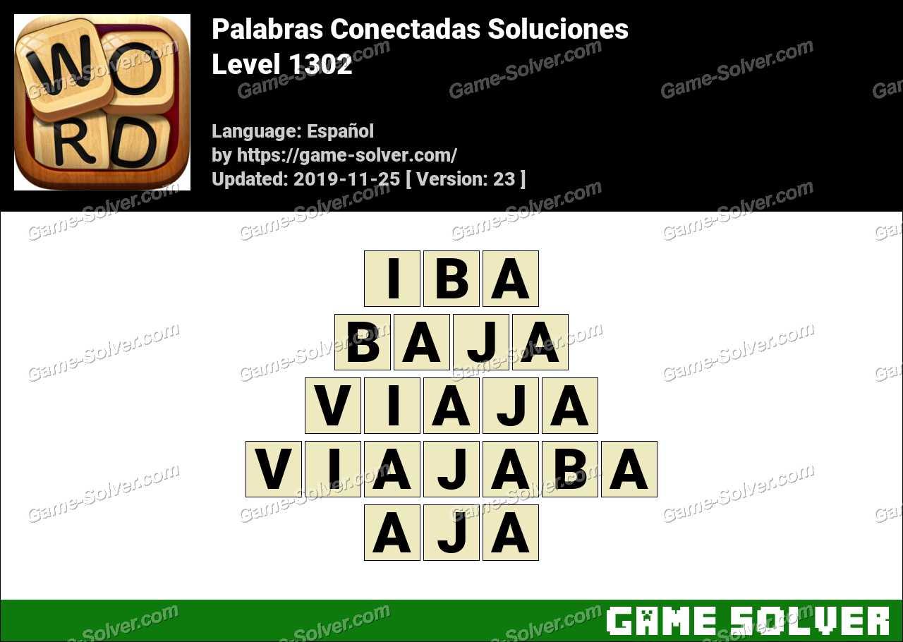 Palabras Conectadas Nivel 1302 Soluciones