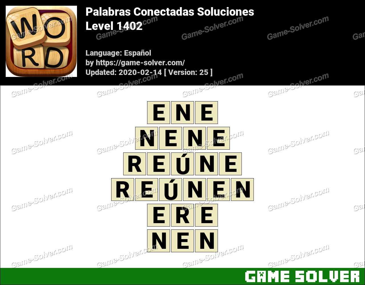 Palabras Conectadas Nivel 1402 Soluciones