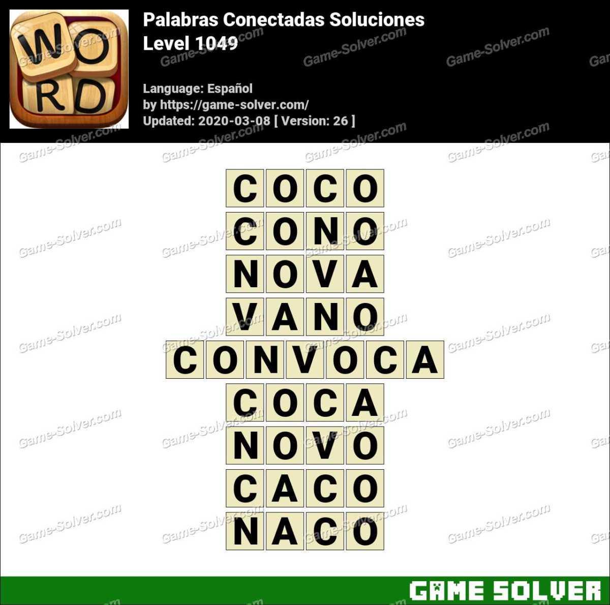 Palabras Conectadas Nivel 1049 Soluciones