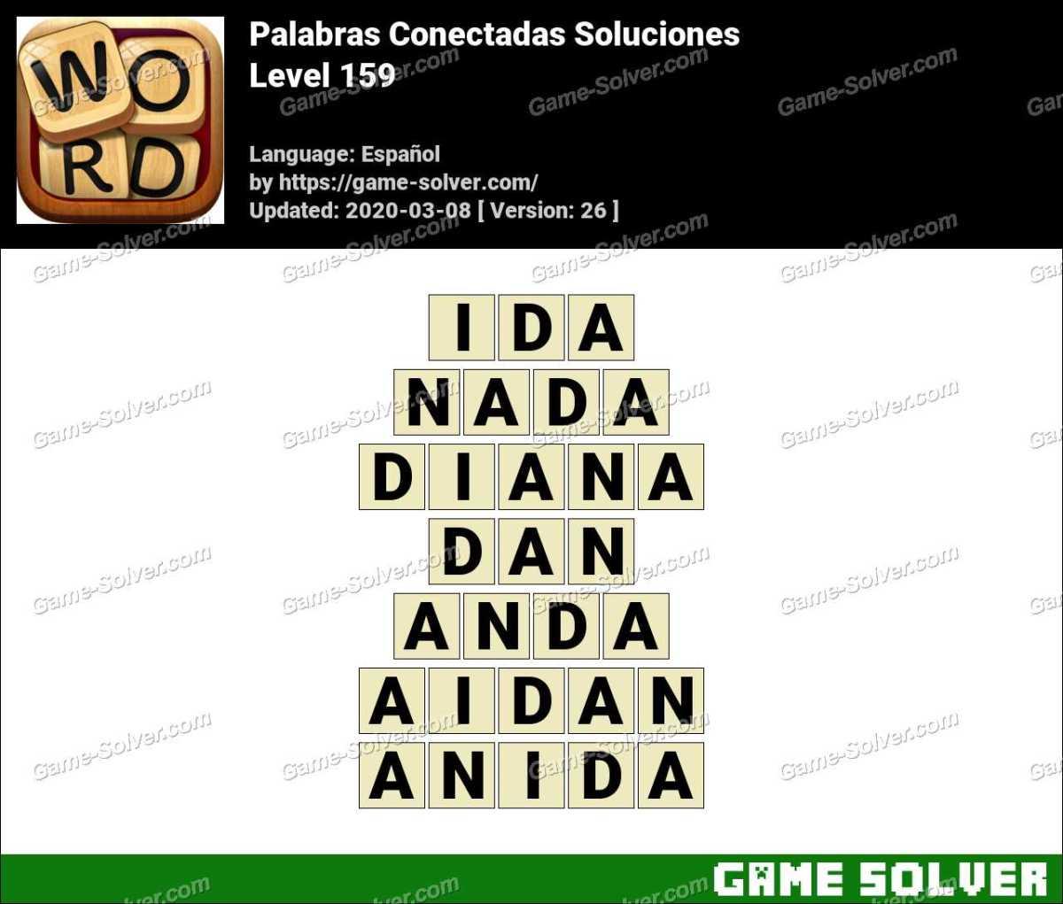 Palabras Conectadas Nivel 159 Soluciones