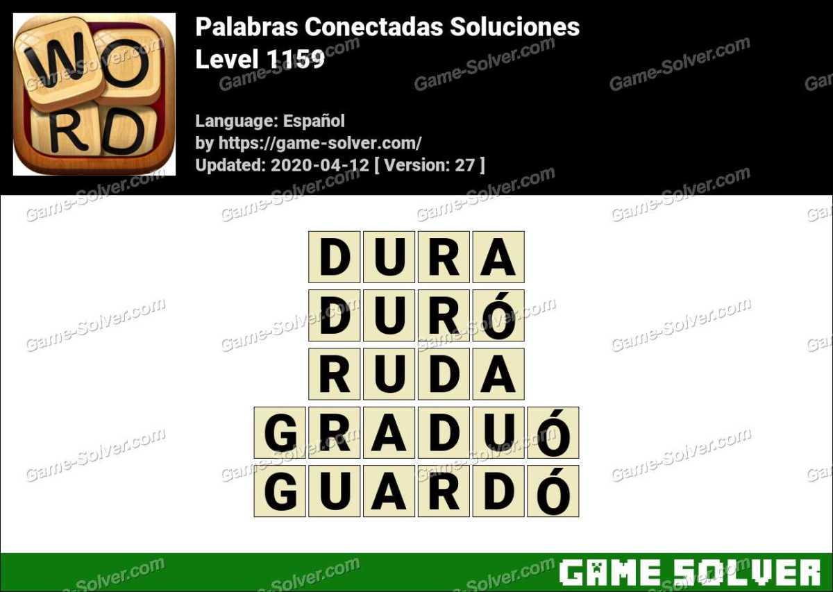 Palabras Conectadas Nivel 1159 Soluciones