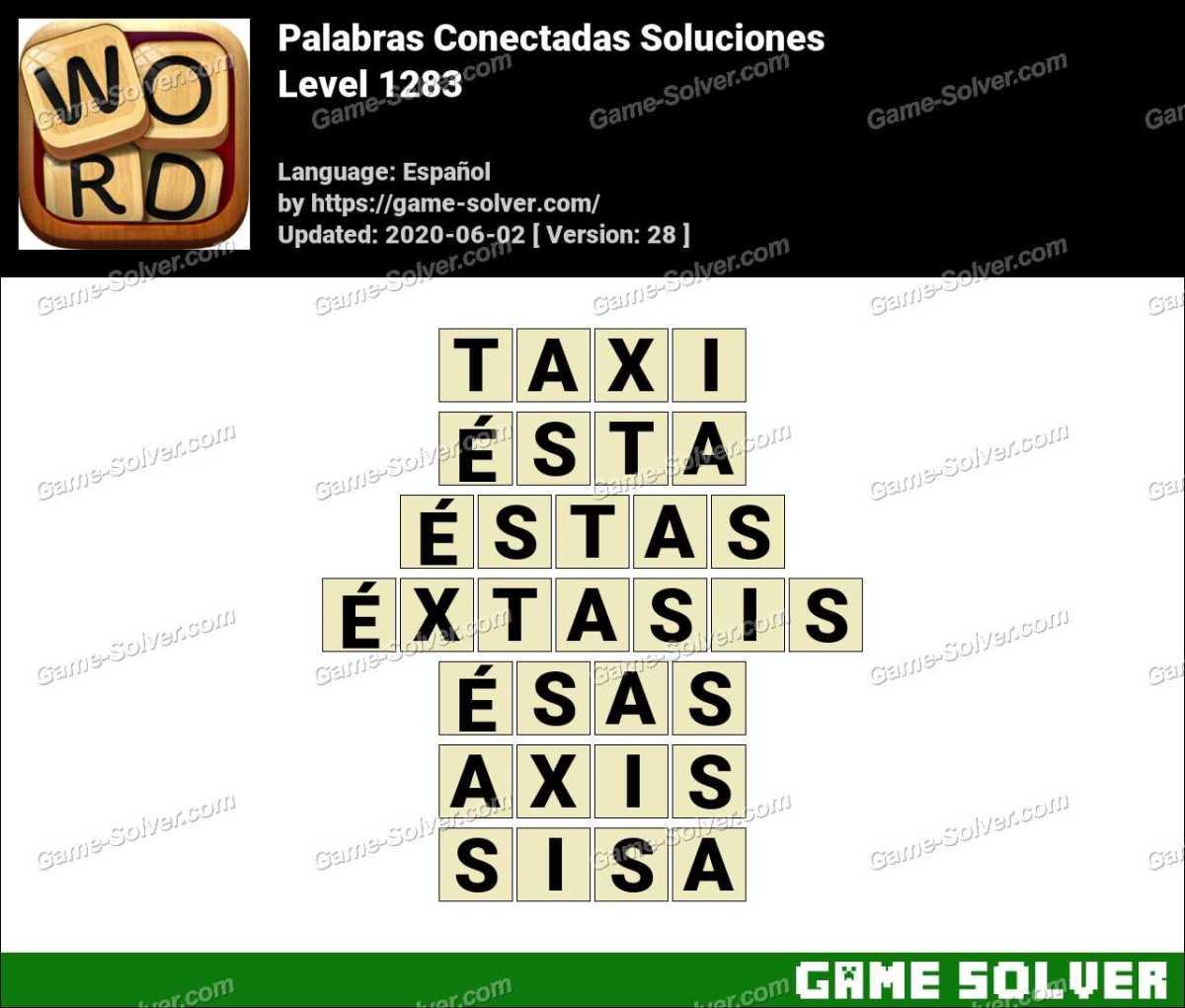 Palabras Conectadas Nivel 1283 Soluciones