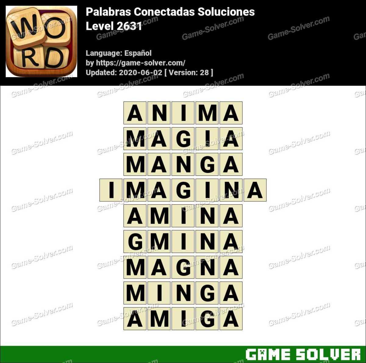 Palabras Conectadas Nivel 2631 Soluciones