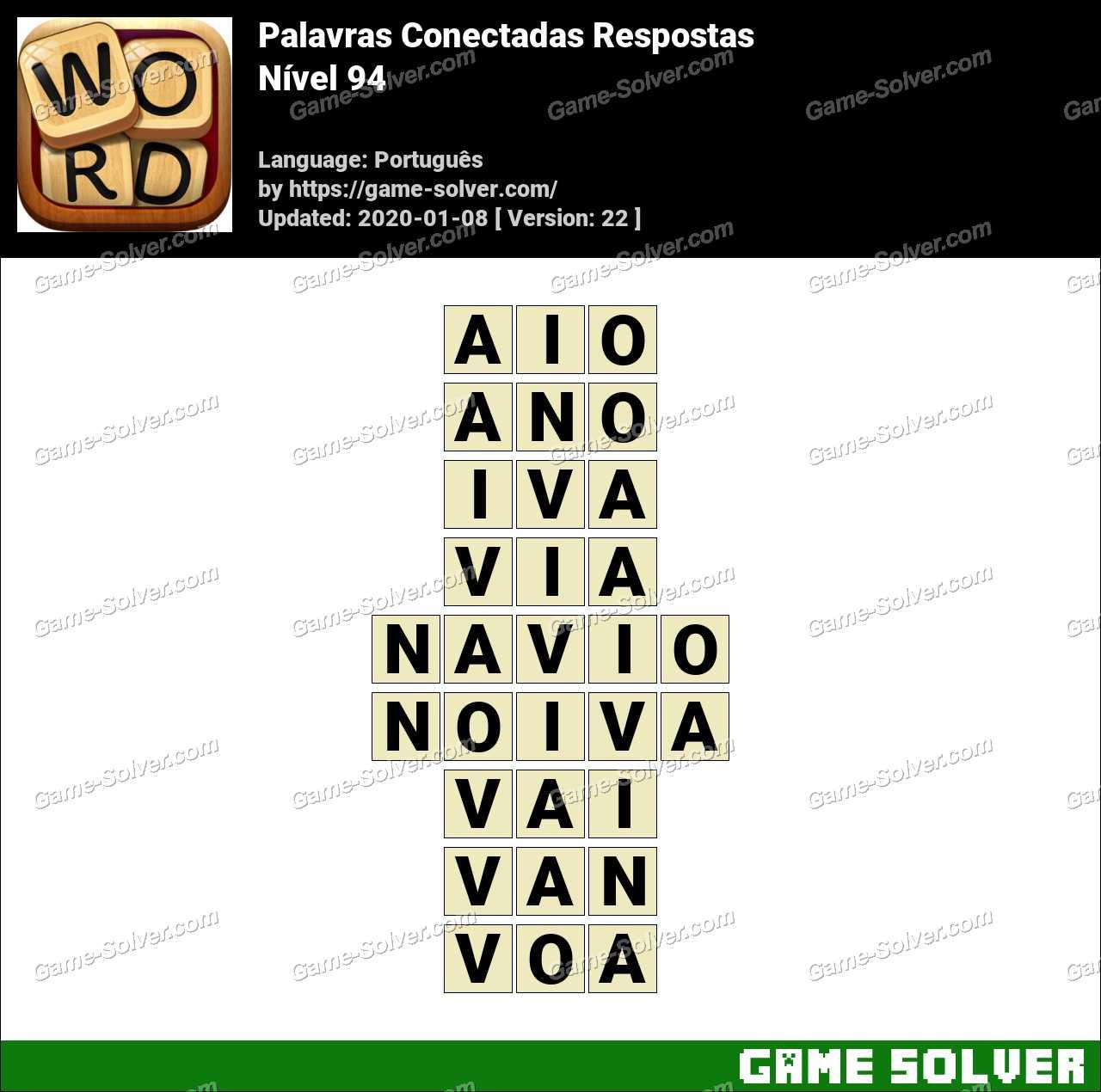 Palavras Conectadas Nivel 94 Respostas