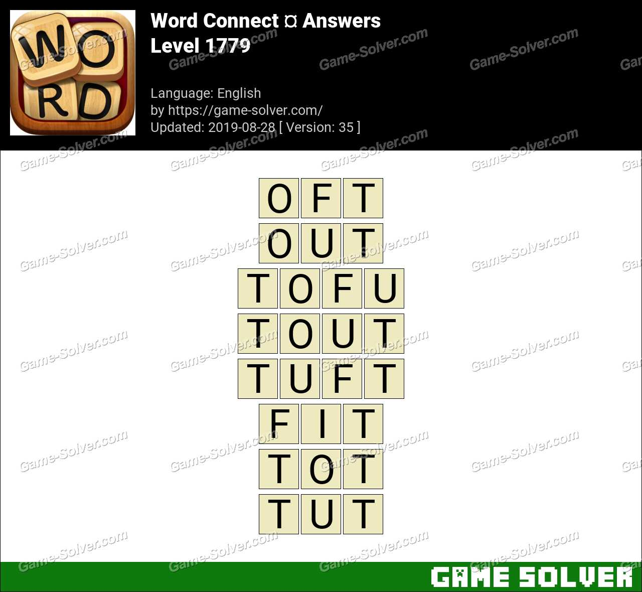 Word Connect Level 1779 Answers