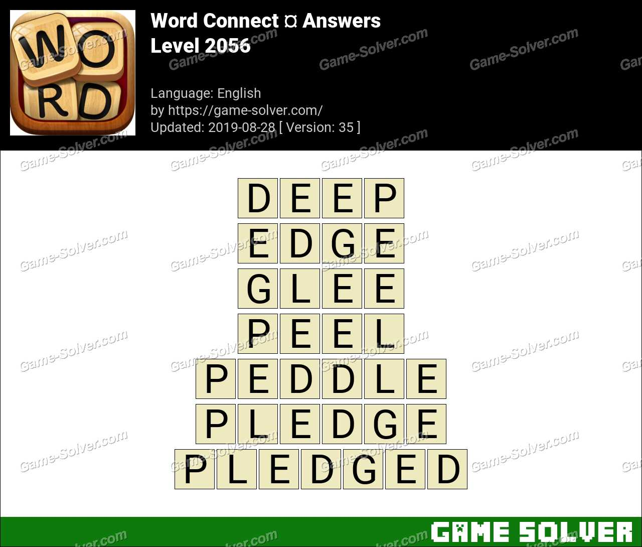 Word Connect Level 2056 Answers