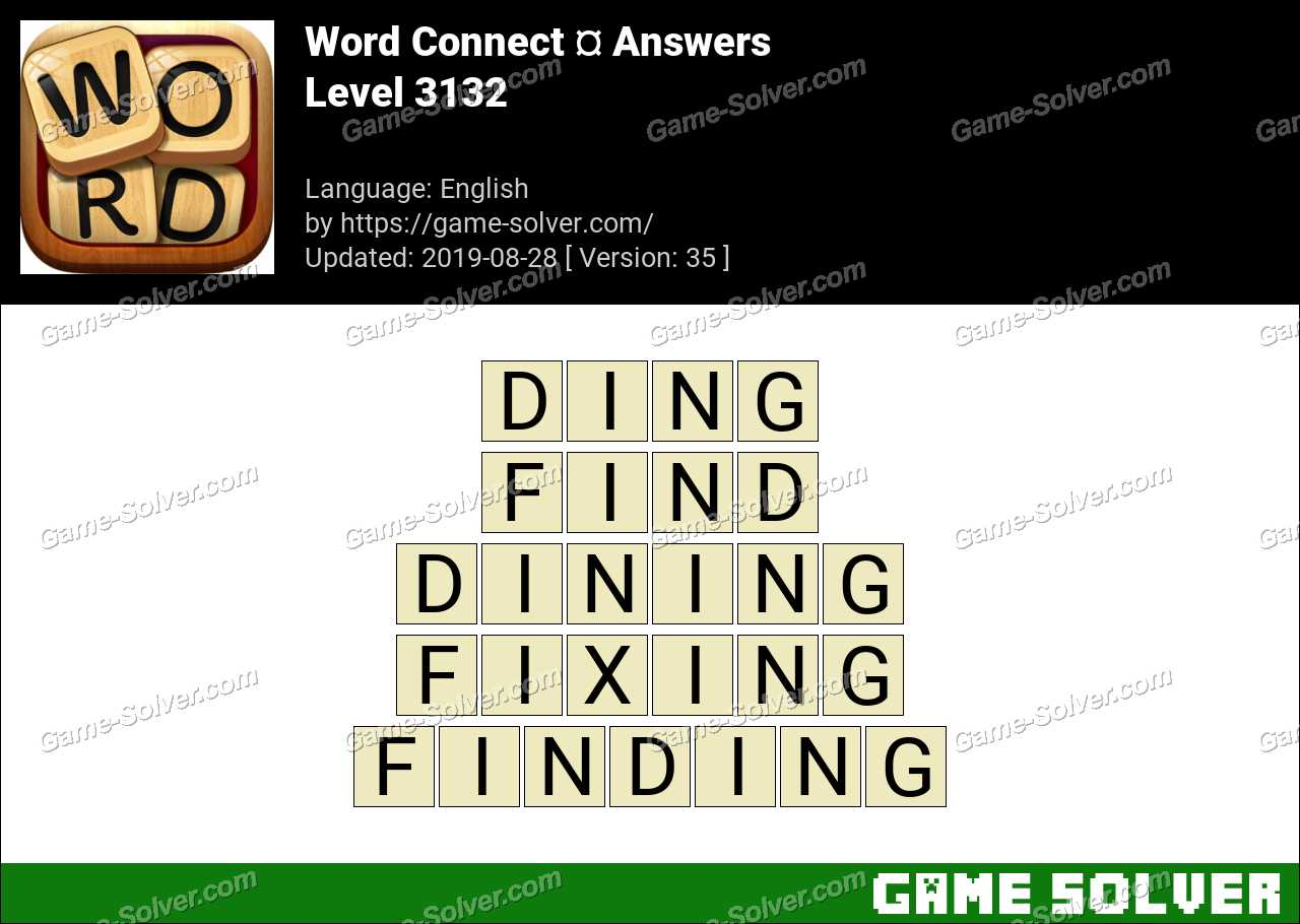 Word Connect Level 3132 Answers